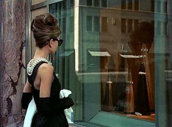 """Кадр из знаменитого фильма """"Завтрак у Tiffany"""""""