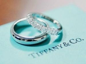Помолвочные и обручальные кольца от tiffany