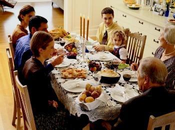 Юбилей бракосочетания в кругу семьи