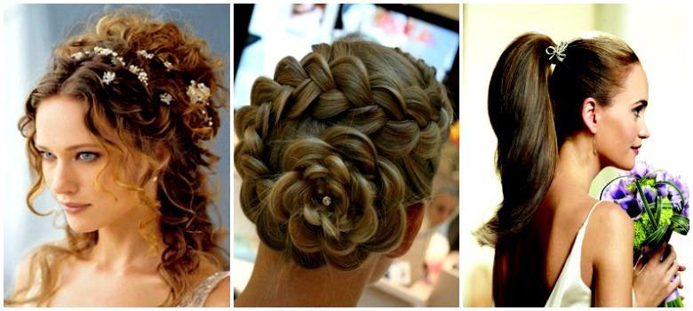 Прическа свидетельницы на свадьбу на средние волосы
