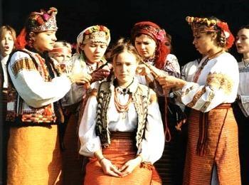 Оплакивание косы невесты