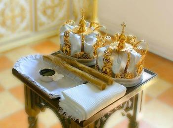 Необходимые вещи для церковного свадебного обряда