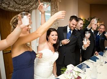 Тост за молодых на свадьбу