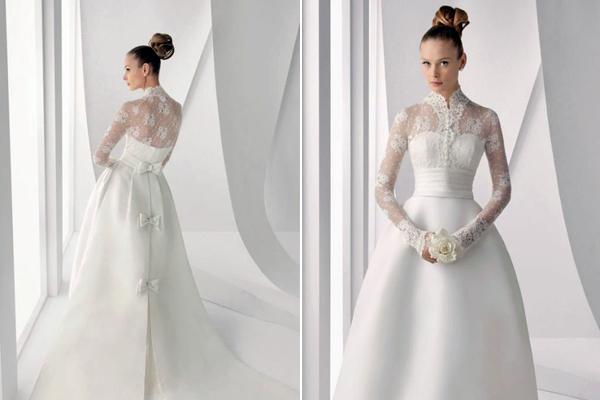Свадебная мода последних сезонов