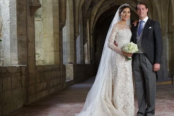 Свадьба немки Клэр Ладемахер и Его Королевского Высочества Принца Феликса Люксембургского