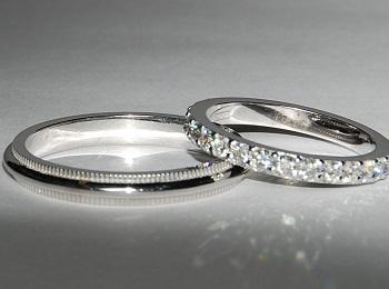 Серебряные обручальные украшения