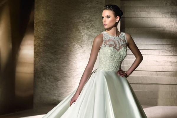 Стильный наряд для невесты