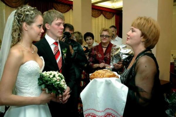 Слова зятю на свадьбе от тещи