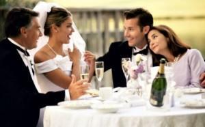 Благодарность родителям на свадьбе от молодых