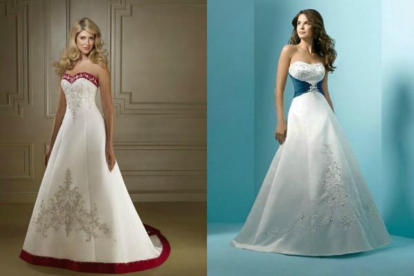 Платья для невест в новогоднем стиле