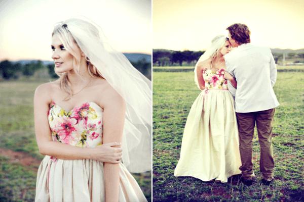 Платье-сарафан для невесты
