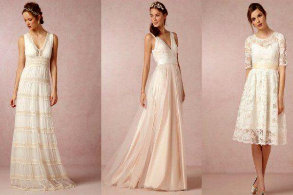 Платье для невесты  из натуральных тканей