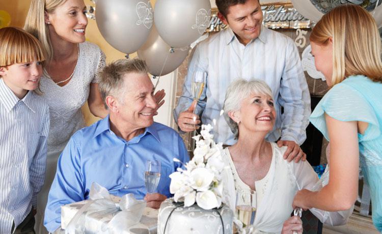 Поздравления от внуков  на серебряной свадьбе