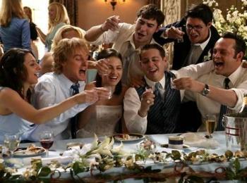 Дружная семейная идиллия на свадьбе