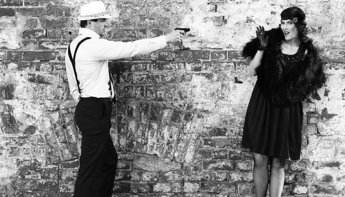 Черное платье для эксцентричной невесты