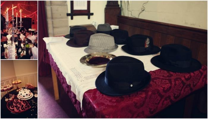 Шляпки для гостей на свадьбе - ими можно украсить один из столов у входа