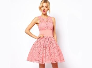 Коктейльное розовое платье - отличный наряд для молодой красавицы на чужой свадьбе