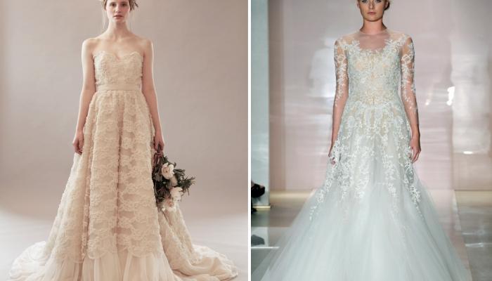 Выбор платьев для невесты в стиле ретро очень широк