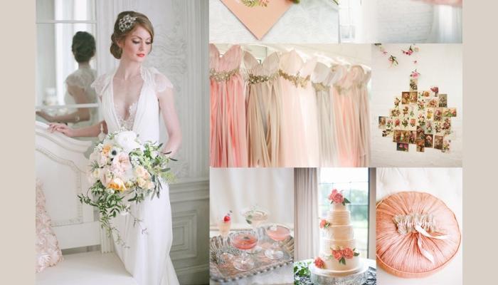 Платья для невесты и украшения в стиле Шебби шик