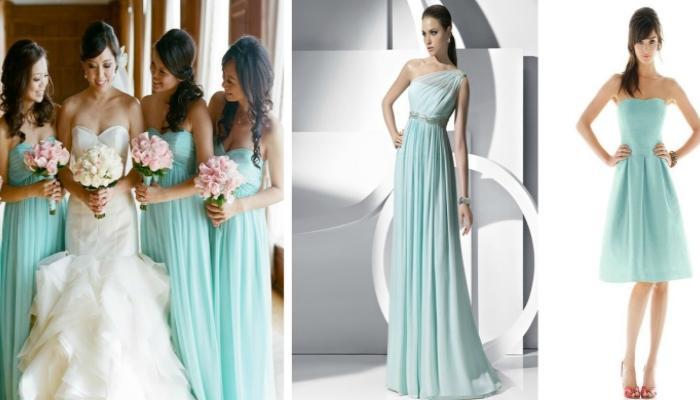 Платья в стиле тиффани фото на свадьбу
