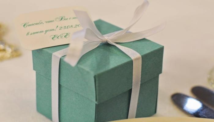Подарки для гостей в ретро-стиле