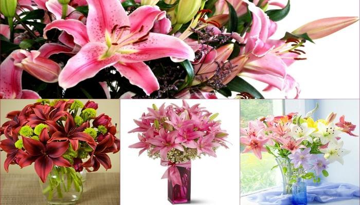 Роскошные необычные лилии - дорогое, но изящное украшение на свадьбе