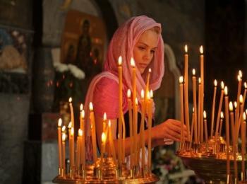 Молиться нужно только за счастье брачующихся