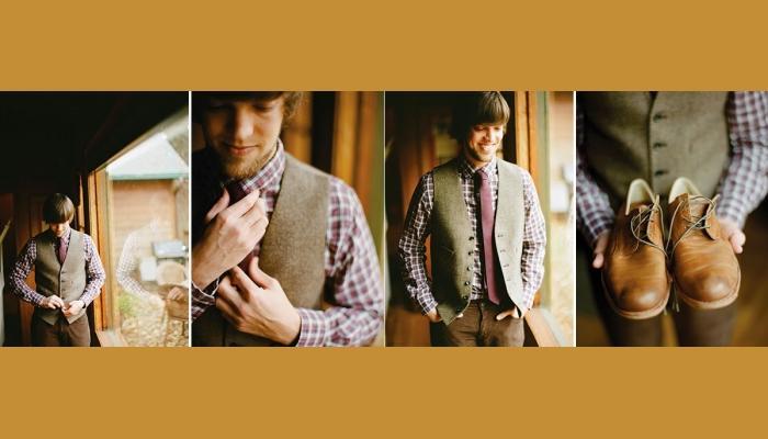 Важные детали для наряда жениха в винтажном стиле
