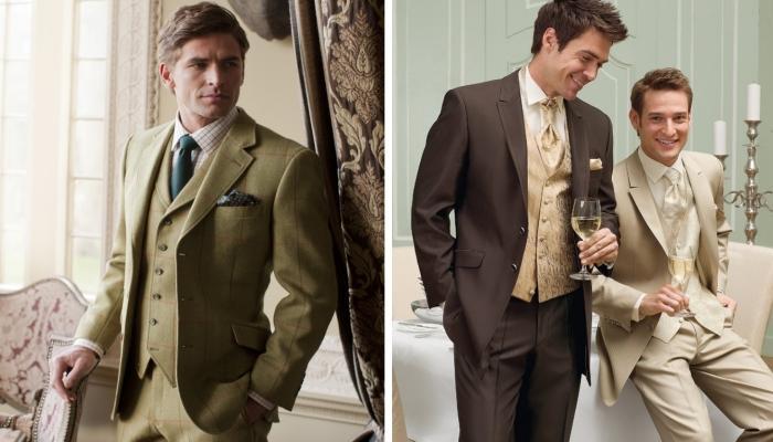 Элегантные и строгие костюмы, которые подойдут будущему супругу