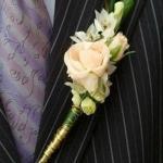 Бутоньерка своими руками - советы для невест-мастериц