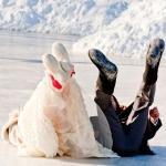 Как устроить интересную свадьбу зимой?