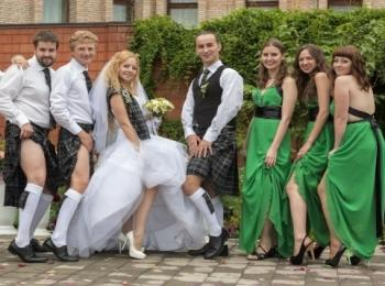 Зеленую свадьбу можно превратить в чудесную тематическую ирландскую сказку
