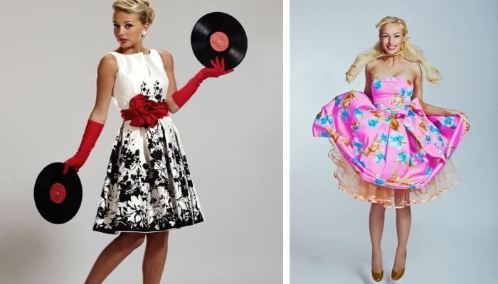 Другие варианты платьев для невесты - яркое и черно-белое