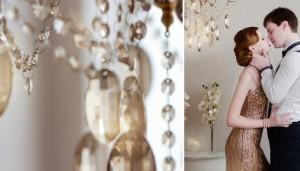 Свадьба в стиле Гэтсби - это романтичное ретро-торжество