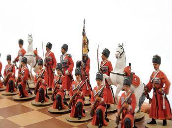 Шахматы с казаками - мужской сувенир