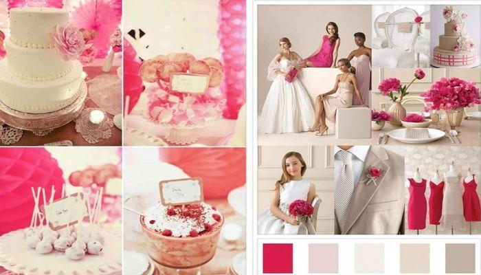 Розовый тон - обязательный атрибут праздника