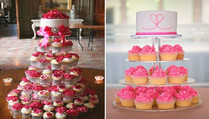 Конфеты и шоколад в розовом цвете