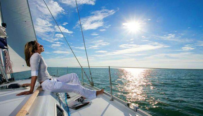 Путешествие в морской круиз
