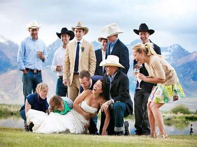 Ковбойская свадьба - кантри