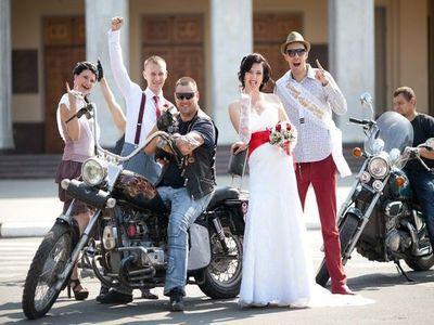 Тематическая свадьба - в стиле рок-н-ролл