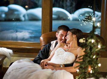 Интересные идеи проведения новогодней свадьбы