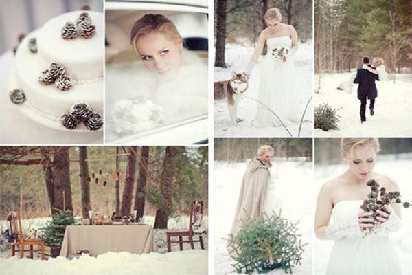 Рождественский свадебный банкет