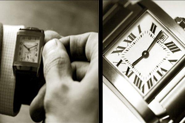 Прямоугольный корпус наручных часов