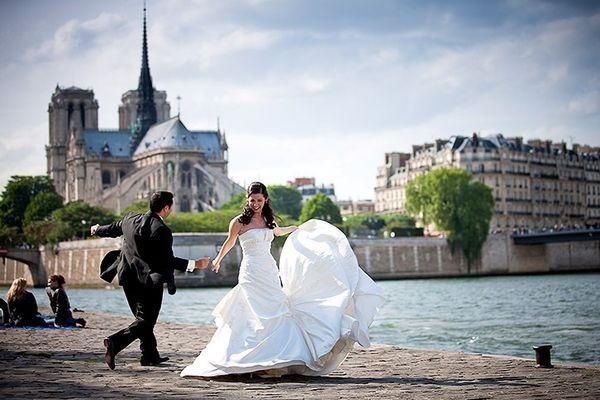 Романтическое событие во Франции