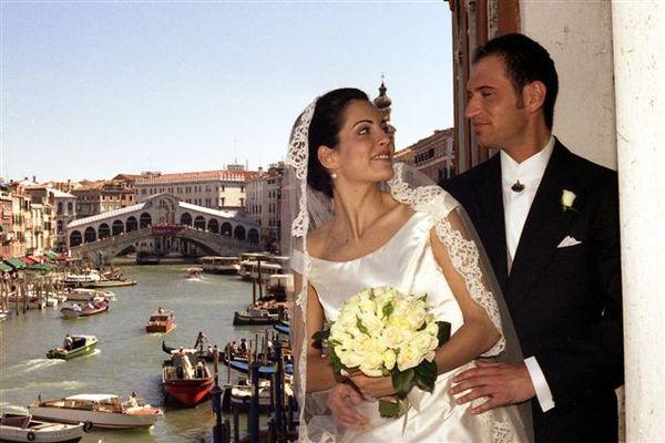 Романтическая церемония в Италии