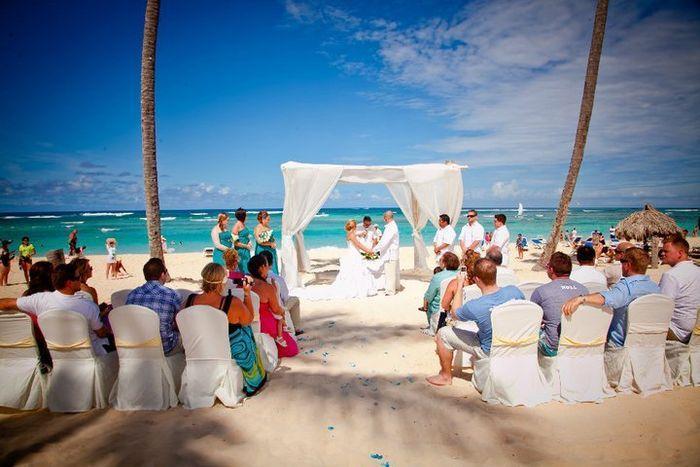 Карибская свадебная церемония