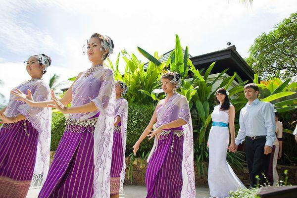 Символическая церемония в Таиланде