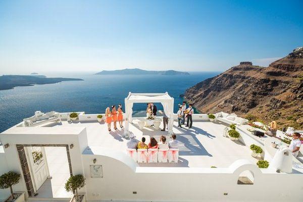 Церемония торжества в Греции