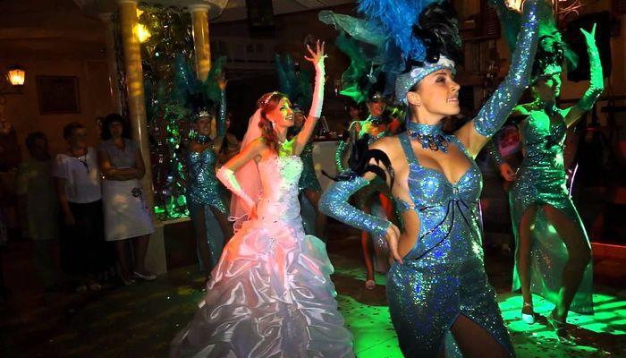 Карнавальный танец от невесты