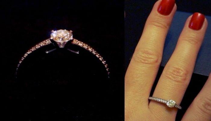 На каком пальце носить помолвочное кольцо